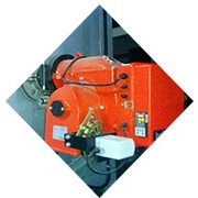 Industrial furnace - evenredich gas burner